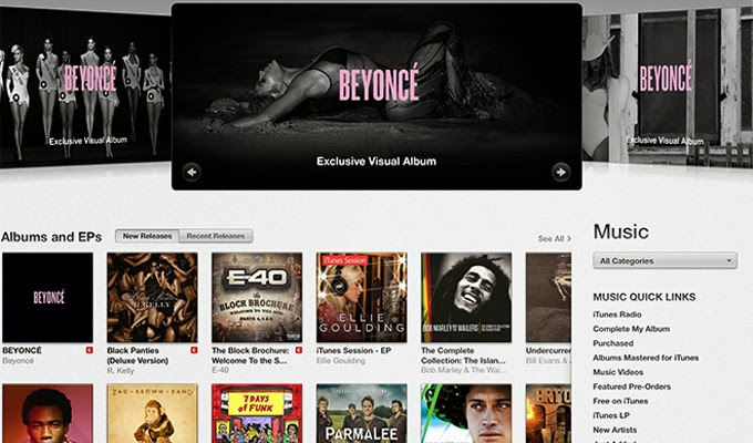 Beyoncé's release of new album, and the importance of digital distribution channels